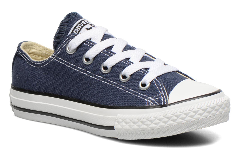Sneakers Converse Chuck Taylor All Star Core Ox Blå detaljerad bild på paret