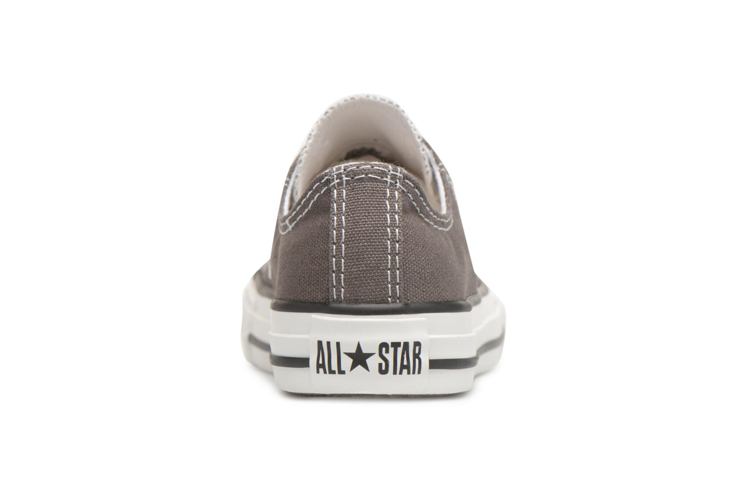 Trainers Converse Chuck Taylor All Star Core Ox Grey view from the right