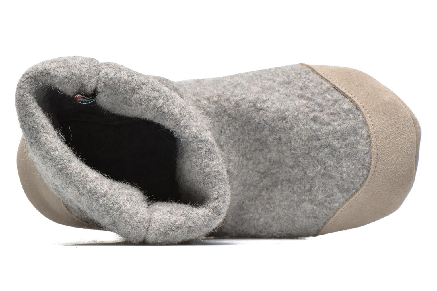 Chaussons Ruby Brown Ladies Bootee with Suede Gris vue gauche