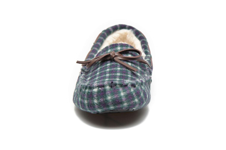Pantoffels Ruby Brown Check mocassin M Multicolor model