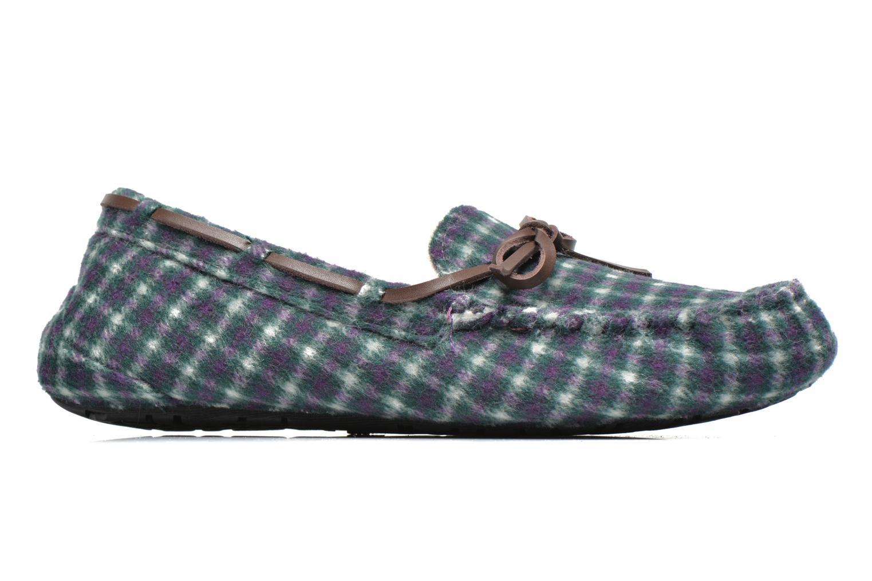 Pantoffels Ruby Brown Check mocassin M Multicolor achterkant