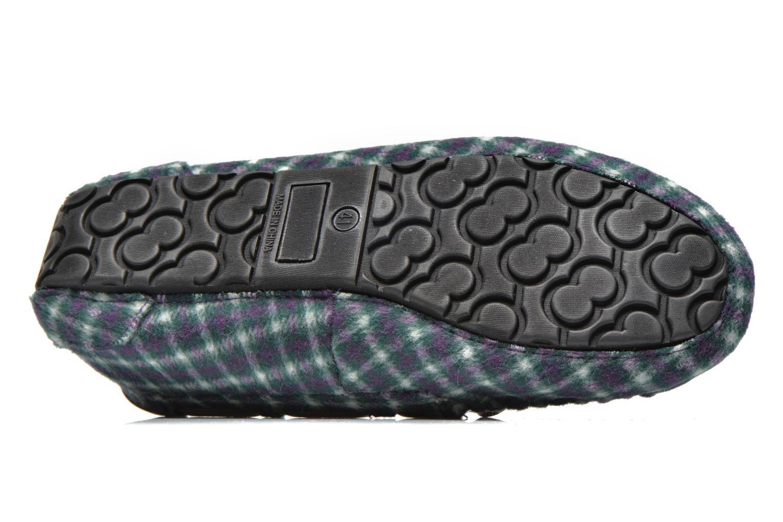 Pantoffels Ruby Brown Check mocassin M Multicolor boven