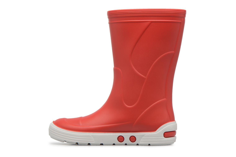 Stiefel Méduse Airport rot ansicht von vorne