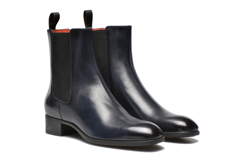 Stiefeletten & Boots Santoni Elodie 53554 blau 3 von 4 ansichten