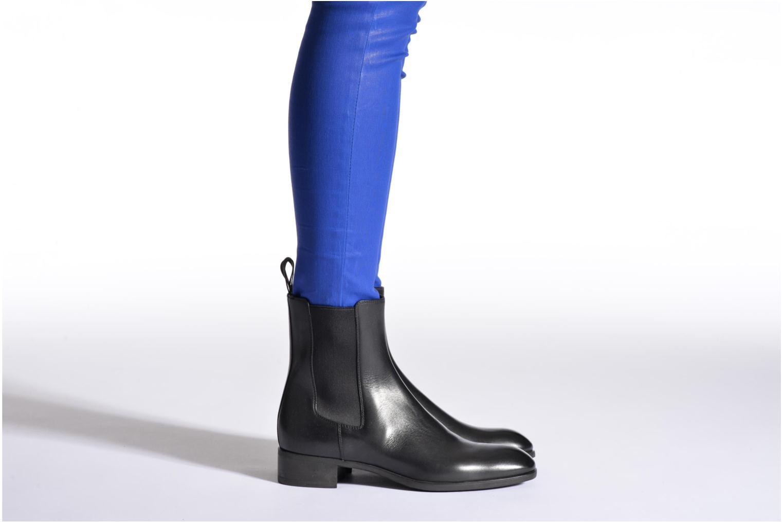 Stiefeletten & Boots Santoni Elodie 53554 blau ansicht von unten / tasche getragen