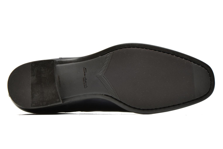 Bottines et boots Santoni Elodie 53554 Bleu vue haut