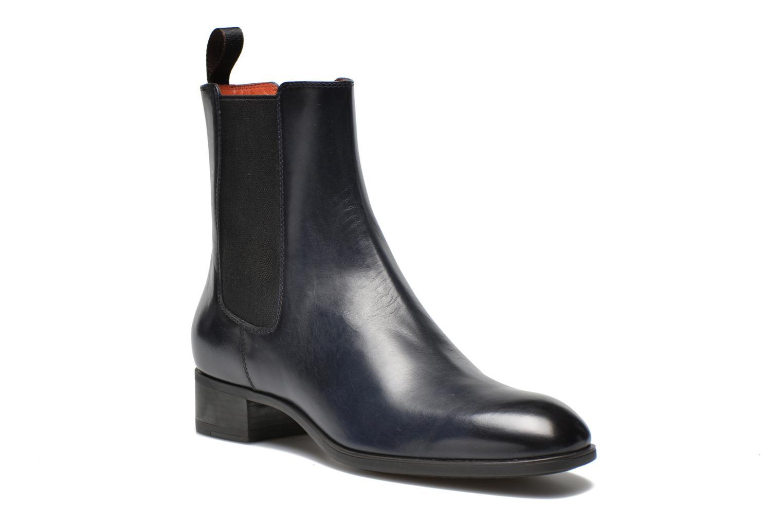 Stiefeletten & Boots Santoni Elodie 53554 blau detaillierte ansicht/modell