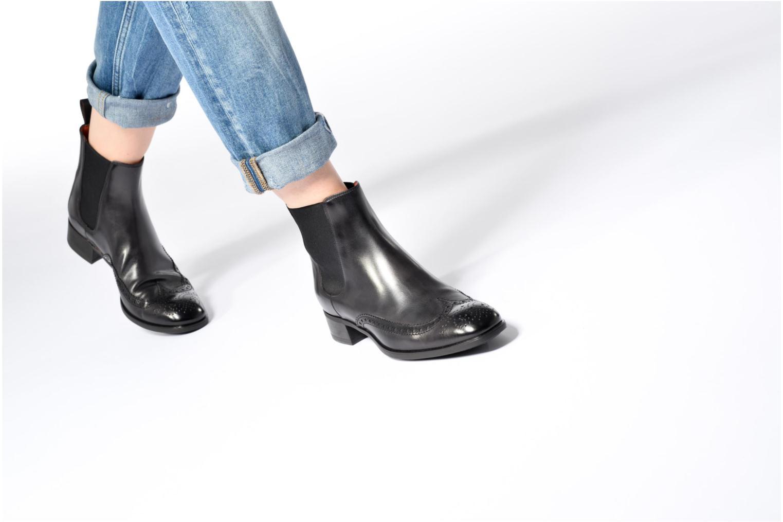Bottines et boots Santoni Elodie 55133 Marron vue bas / vue portée sac