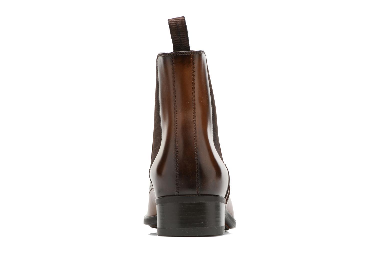 Bottines et boots Santoni Elodie 55133 Marron vue droite