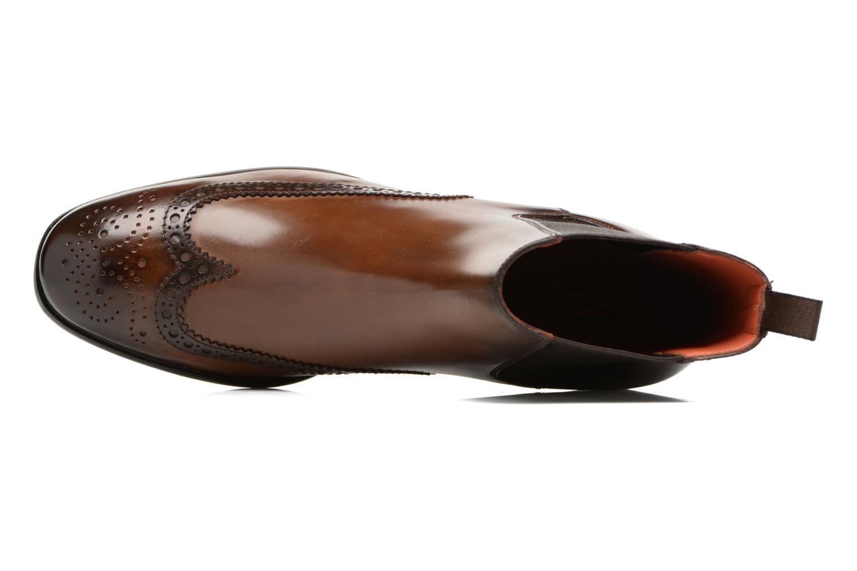 Bottines et boots Santoni Elodie 55133 Marron vue gauche