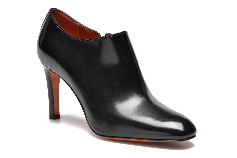 Ankelstøvler Santoni Moss 53395 Sort detaljeret billede af skoene