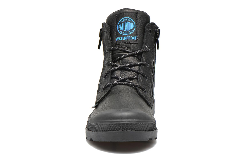 Bottines et boots Palladium Hi Cuff Wp K Noir vue portées chaussures