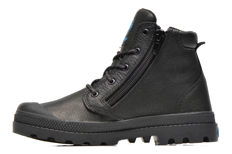 Ankle boots Palladium Hi Cuff Wp K Black front view