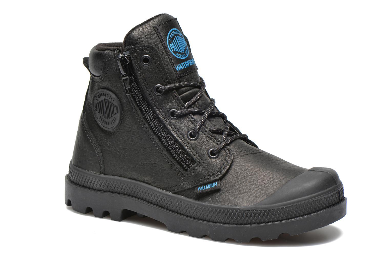 Bottines et boots Palladium Hi Cuff Wp K Noir vue détail/paire