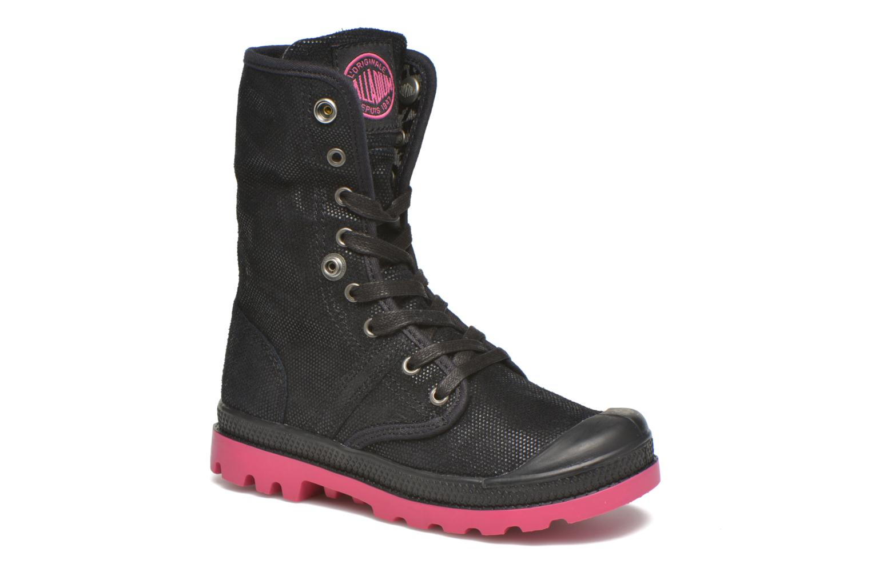 Boots en enkellaarsjes Palladium Baggy Fl K Zwart 3/4'