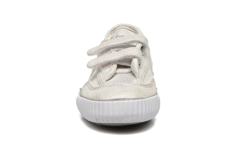 Sneakers Feiyue Fe Lo Glitter Easy Silver bild av skorna på