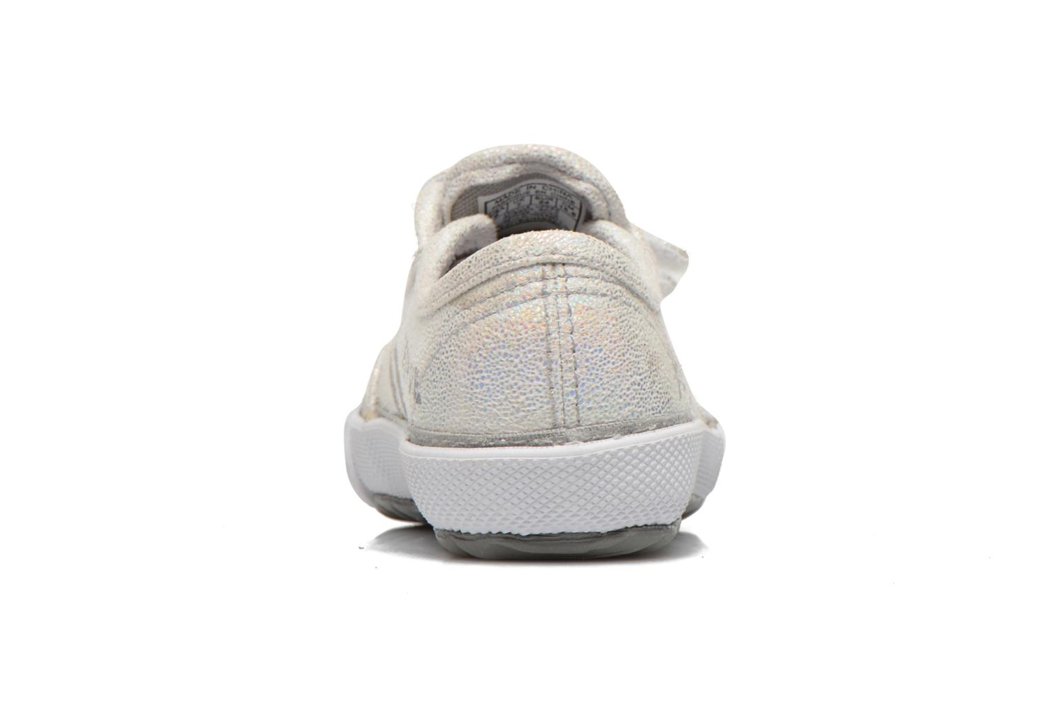 Trainers Feiyue Fe Lo Glitter Easy Silver view from the right