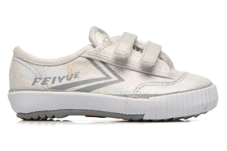 Sneakers Feiyue Fe Lo Glitter Easy Silver bild från baksidan