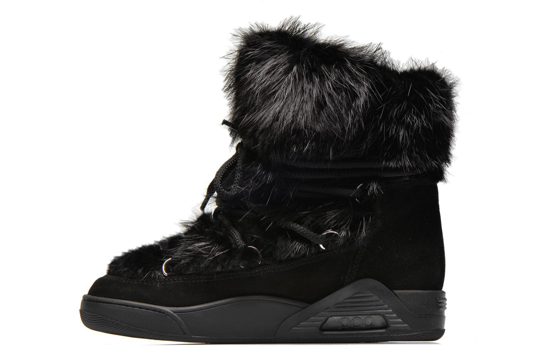 Bottines et boots Serafini Moon Fur Noir vue face