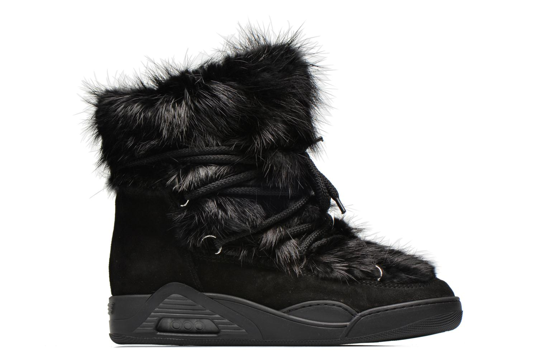 Bottines et boots Serafini Moon Fur Noir vue derrière