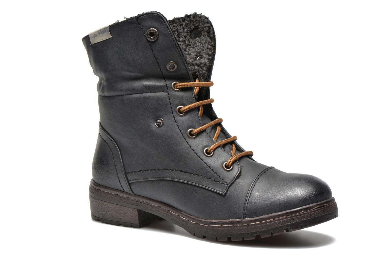 Bottines et boots Coolway Bring Noir vue 3/4