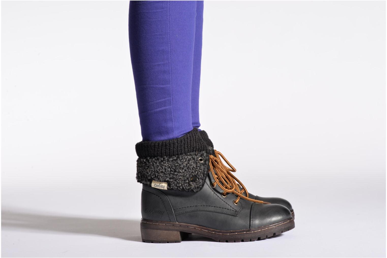 Bottines et boots Coolway Bring Noir vue bas / vue portée sac