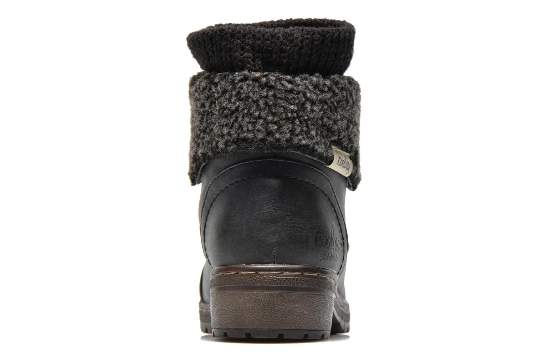 Bottines et boots Coolway Bring Noir vue droite