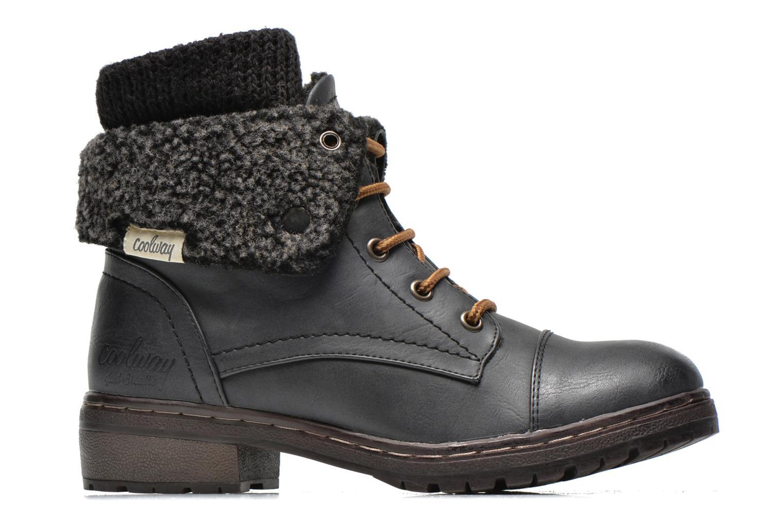 Bottines et boots Coolway Bring Noir vue derrière
