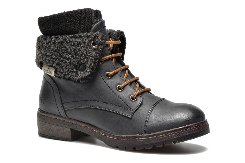 Bottines et boots Coolway Bring Noir vue détail/paire