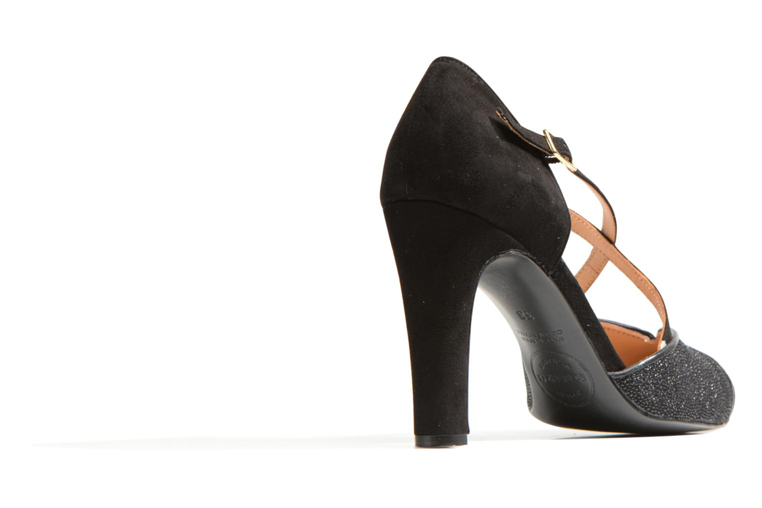 High heels Made by SARENZA Flore Thirties #2 Black front view