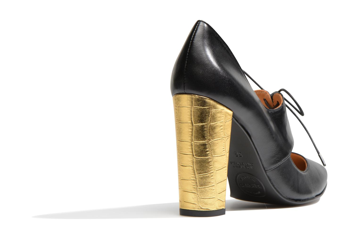 High heels Made by SARENZA Flore Thirties #10 Black front view