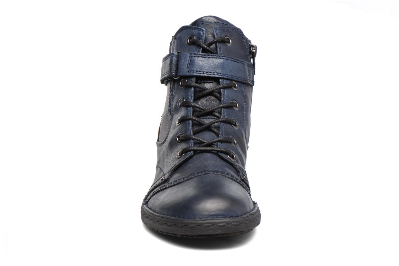 Bottines et boots Khrio Rehayen Bleu vue portées chaussures