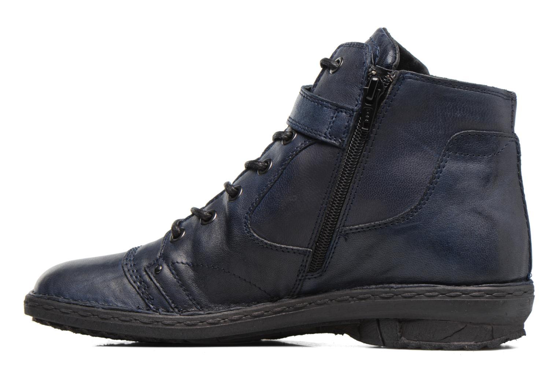 Bottines et boots Khrio Rehayen Bleu vue face