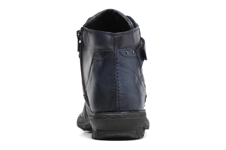 Bottines et boots Khrio Rehayen Bleu vue droite