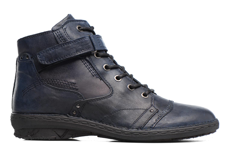 Boots en enkellaarsjes Khrio Rehayen Blauw achterkant