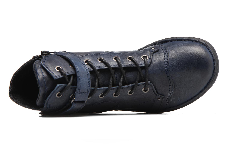 Bottines et boots Khrio Rehayen Bleu vue gauche