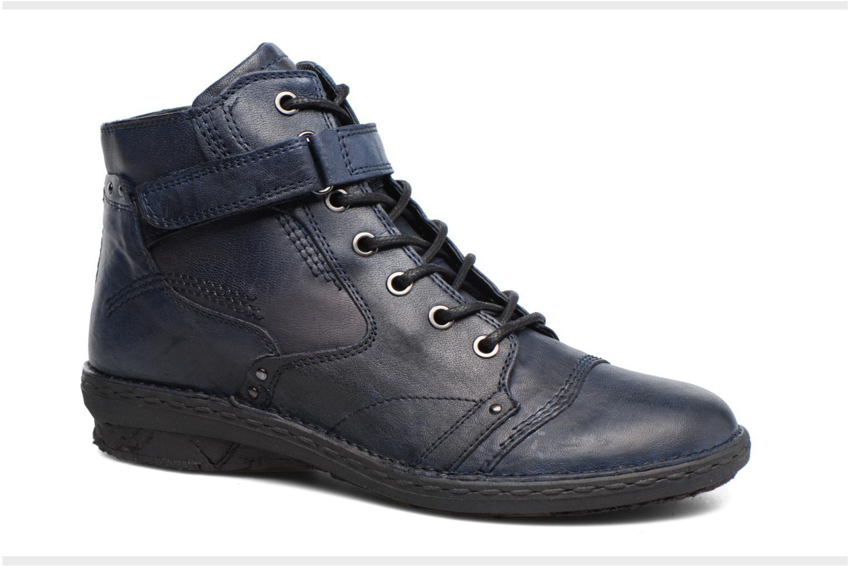 Boots en enkellaarsjes Khrio Rehayen Blauw detail
