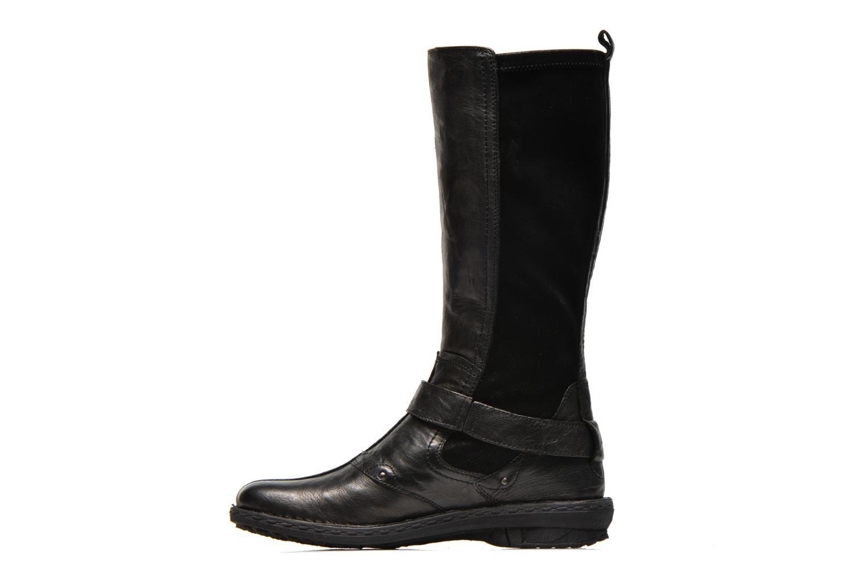 Støvler & gummistøvler Khrio Reandria Sort se forfra