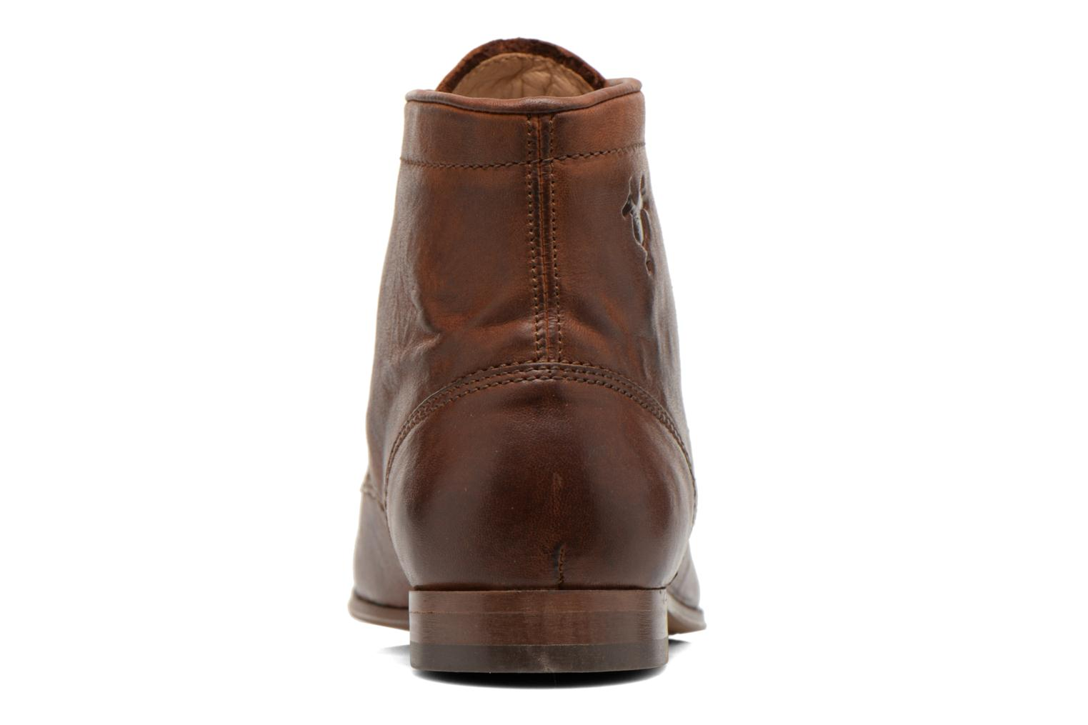 Ankle boots Kost Guillemet Brown view from the right