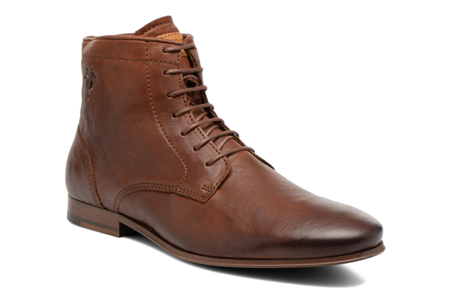 Ankle boots Kost Guillemet Brown detailed view/ Pair view