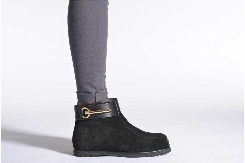 Bottines et boots Vicini Bottines armature Noir vue bas / vue portée sac