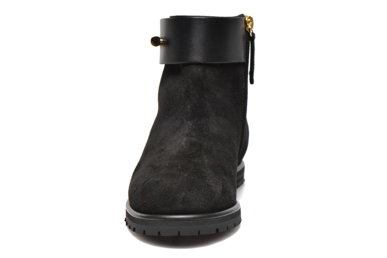 Stiefeletten & Boots Vicini Bottines armature schwarz schuhe getragen