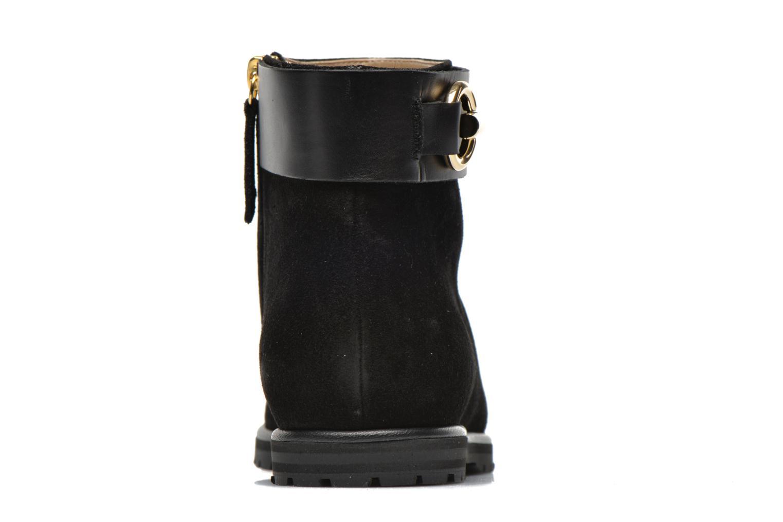 Bottines et boots Vicini Bottines armature Noir vue droite