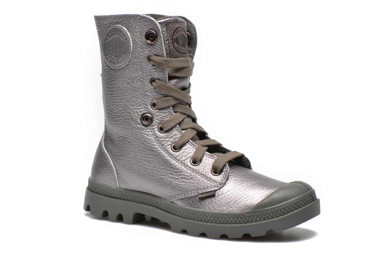 Sneakers Palladium Baggy Metallic L F Silver 3/4 bild