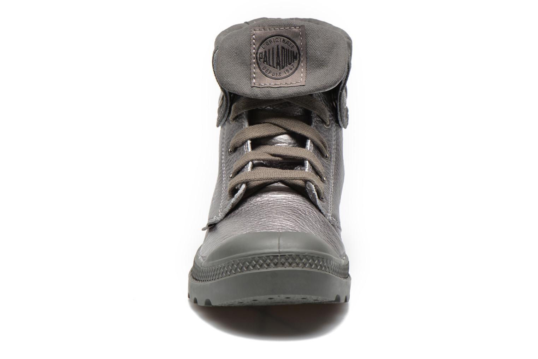 Baskets Palladium Baggy Metallic L F Argent vue portées chaussures