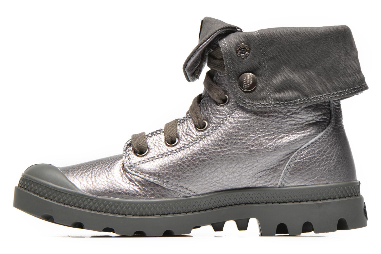 Sneakers Palladium Baggy Metallic L F Silver bild från framsidan