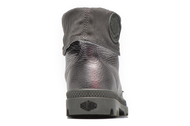 Sneaker Palladium Baggy Metallic L F silber ansicht von rechts