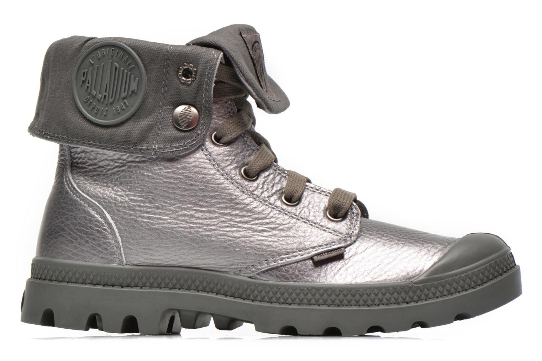 Sneaker Palladium Baggy Metallic L F silber ansicht von hinten