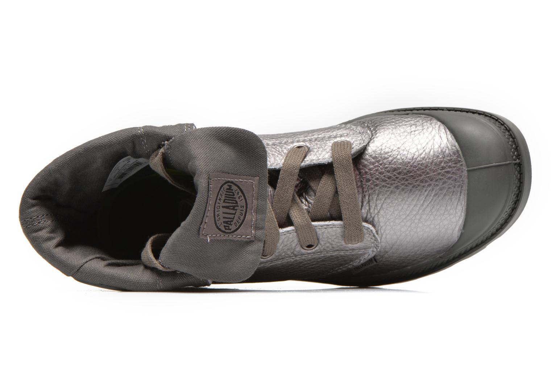 Sneakers Palladium Baggy Metallic L F Sølv se fra venstre