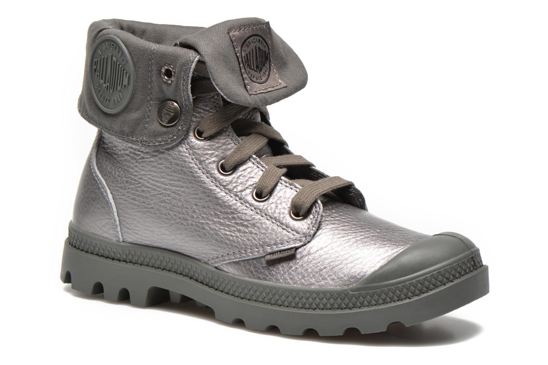 Sneakers Palladium Baggy Metallic L F Silver detaljerad bild på paret